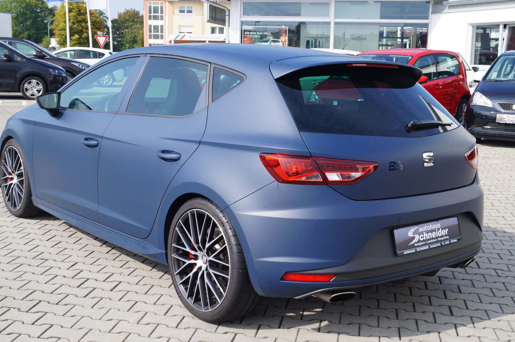 seat leon cupra 290 mit performance paket schneider tuning. Black Bedroom Furniture Sets. Home Design Ideas