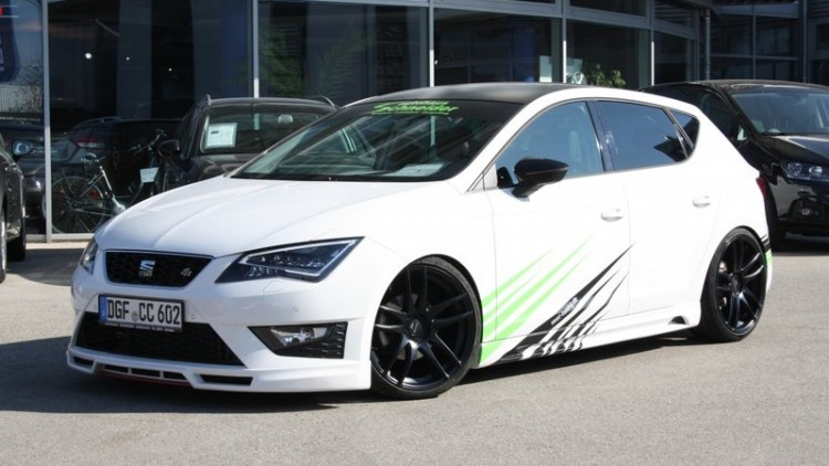 performance und style paket f r seat leon cupra. Black Bedroom Furniture Sets. Home Design Ideas