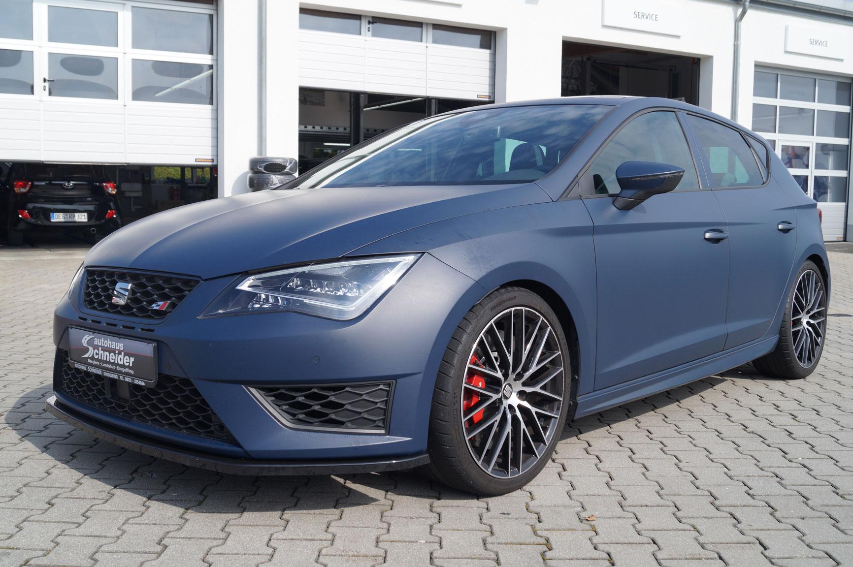 Recaro Performance Sport >> Seat Leon Cupra 290 mit Performance Paket – Schneider Tuning