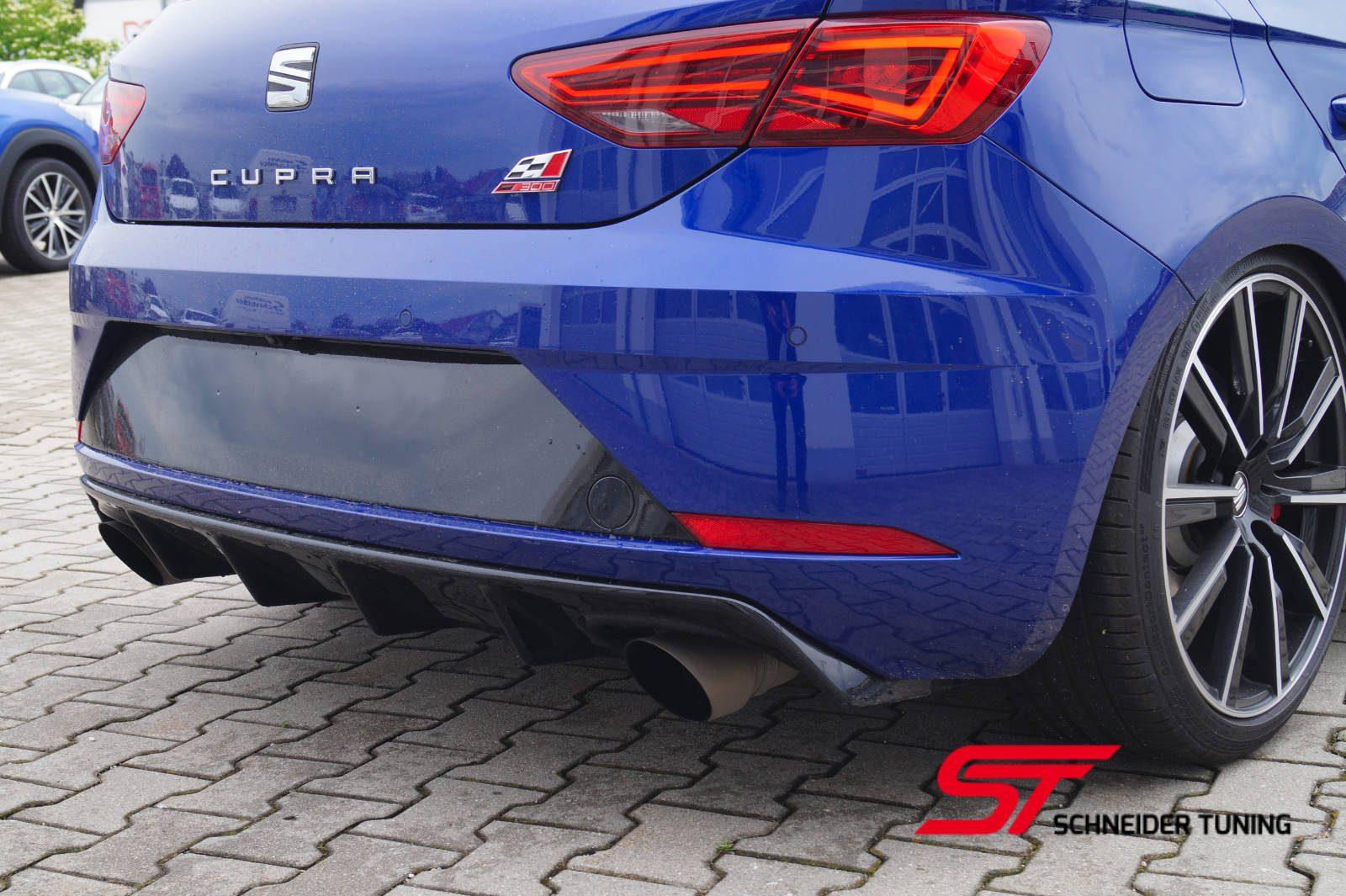 Leon-Cupra-blau-hinten-auspuff
